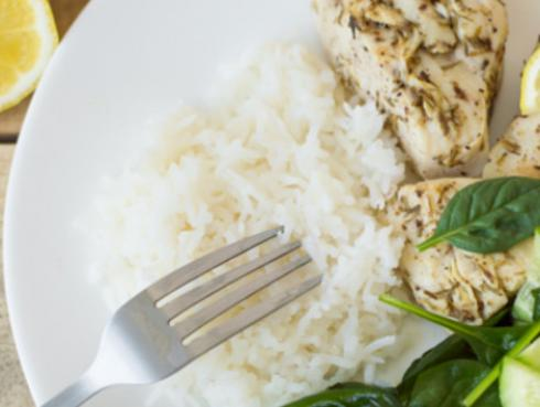Pierde peso con la dieta del arroz