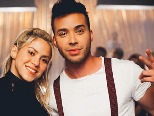Prince Royce consideró tomar clases profesionales luego de bailar con Shakira