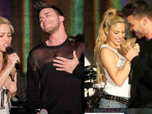 ¡Shakira y Prince Royce cantaron y bailaron 'Deja vu' en presentación de 'El Dorado'!