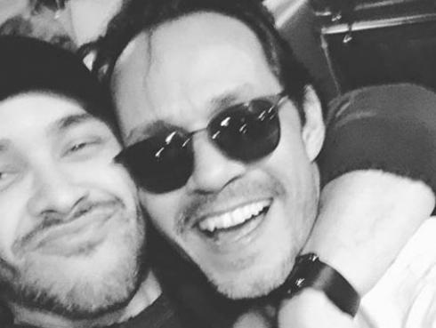 Prince Royce y su baño junto a Marc Anthony