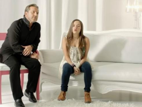 Ricardo Montaner y Evaluna: El tierno video de 'La gloria de Dios' cuando era una niña