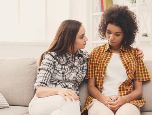 ¿Sabes cómo animar a un amigo cuando está triste?