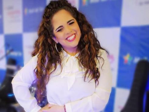 Sandra Muente más cómplice que nunca en el Festival de Baladas