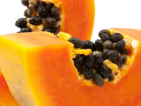 Semillas de papaya para prevenir tumores