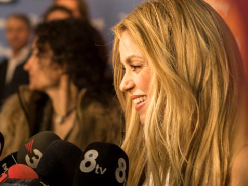 Shakira ensaya hasta en sus días libres