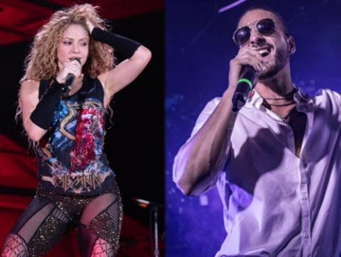 Shakira y Maluma nominados a los MTV Video Music Awards