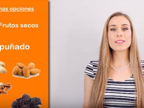 Snacks saludables que no te harán subir de peso