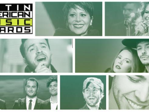 Esta es la lista completa de los nominados a los Latin American Music Awards