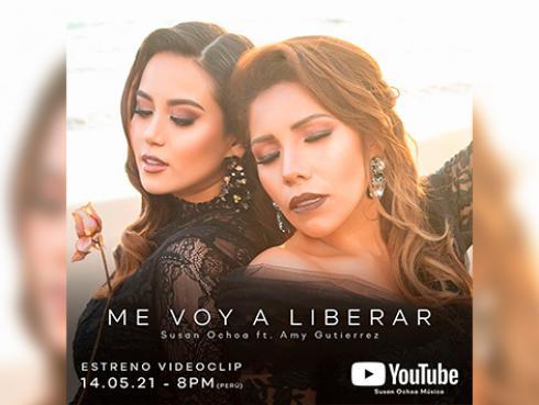 Susan Ochoa y Amy Gutierrez estrenarán videoclip: 'Me voy a liberar' este viernes