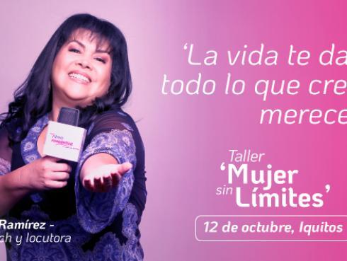 ¡Taller Mujer sin límites! Participa por tu entrada