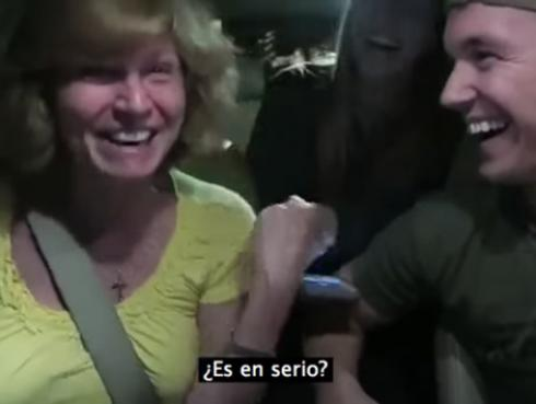 Un GPS le dio la mejor noticia del mundo y se volvió viral de YouTube [VIDEO]