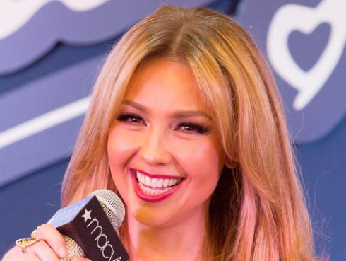 Thalía estrenó el sencillo 'Corazón valiente'