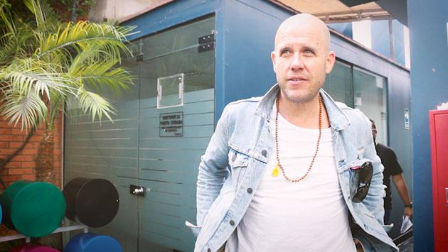 GianMarco estuvo en la cabina de Ritmo Romántica y cantó en vivo