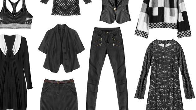 3 ideas para incluir el negro en tus looks