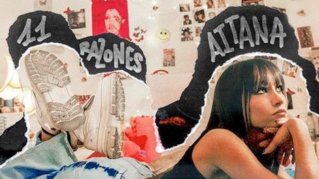 Aitana estrenó '11 razones', el videoclip de su nuevo sencillo