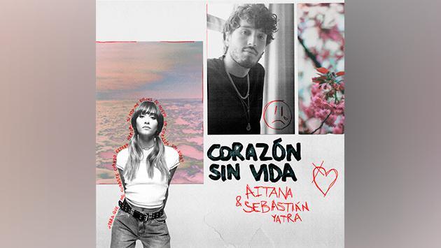 """Aitana y Sebastian Yatra estrenan su primera colaboración """"Corazón sin vida"""", una poderosa balada con un guiño a"""