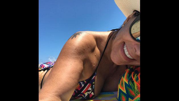 Alejandra Guzmán, espectacular en bikini a sus 49 años [FOTOS]