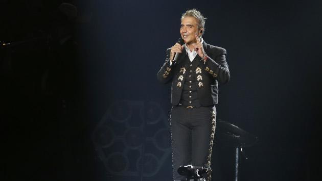 Alejandro Fernández cautivó a su público en Las Vegas