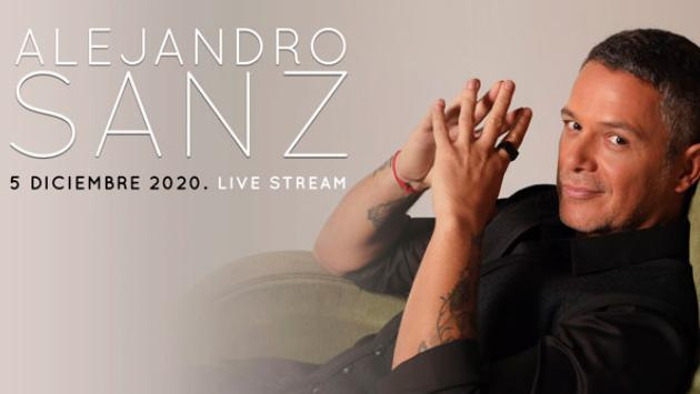 Alejandro Sanz anuncia concierto virtual a nivel mundial