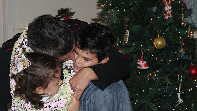 Alejandro Sanz aprovecha la cuarentena para disfrutar al máximo de sus hijos