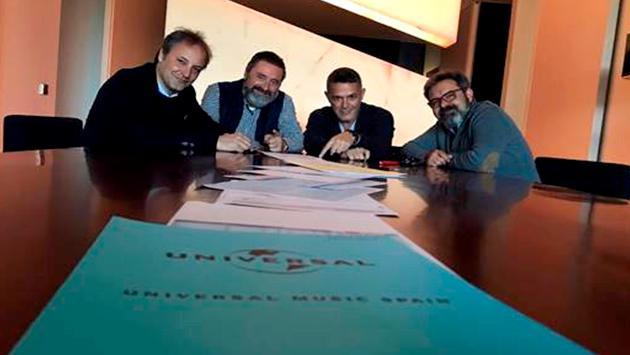 Alejandro Sanz renovó contrato discográfico con Universal Music Spain