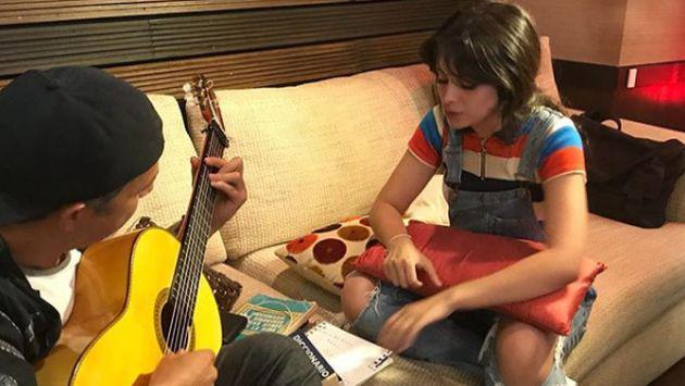 Alejandro Sanz y Camila Cabello preparan nueva música