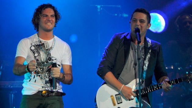 Alejandro Sanz y David Bisbal, juntos en 'La voz'