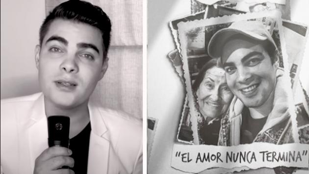 Álvaro Rod estrenó 'El amor nunca termina'