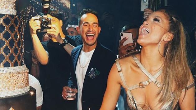Así celebró su cumpleaños Jennifer Lopez
