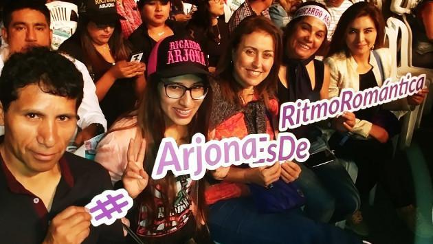Así disfrutaron nuestras oyentes del concierto de Ricardo Arjona