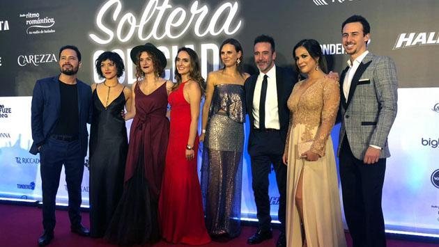 Así fue el avant premiere de 'Soltera Codiciada'