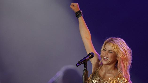 Así fue el concierto de Shakira en Líbano