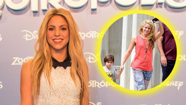 Así fue el paseo familiar de Shakira y Gerard Piqué en Barranquilla [FOTOS]