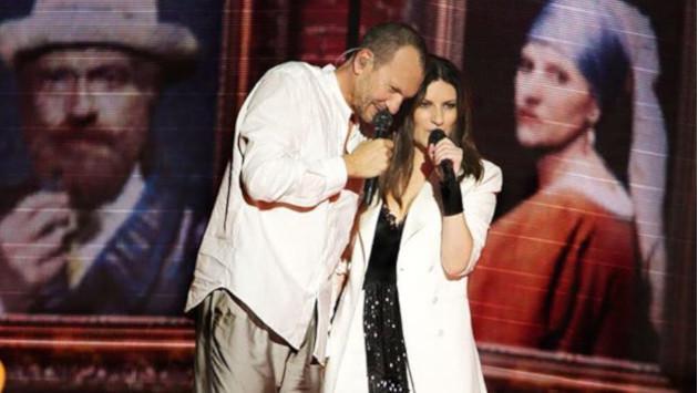Así fue la primera fecha del concierto de Laura Pausini y Biagio Antonacci