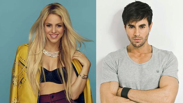 Así lucían Shakira y Enrique Iglesiashace 17 años