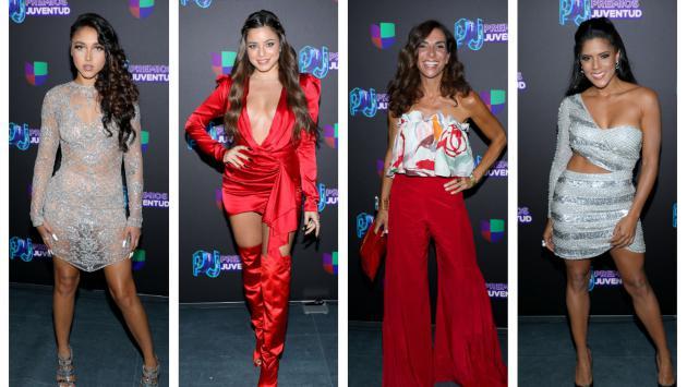 Así lucieron los artistas en la alfombra roja de los Premios Juventud 2019