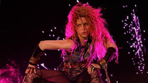 Así se emocionó Shakira con su regreso a los escenarios