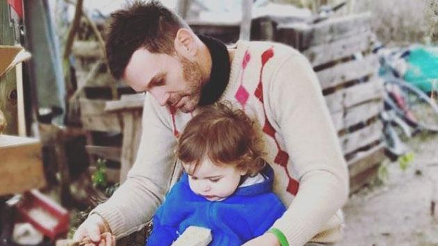 """Axel: """"Cuando estoy en casa soy 100% papá"""""""