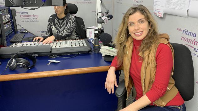 Bárbara Cayo presentó su nueva balada 'Le pregunté al olvido' en exclusiva en Ritmo Romántica