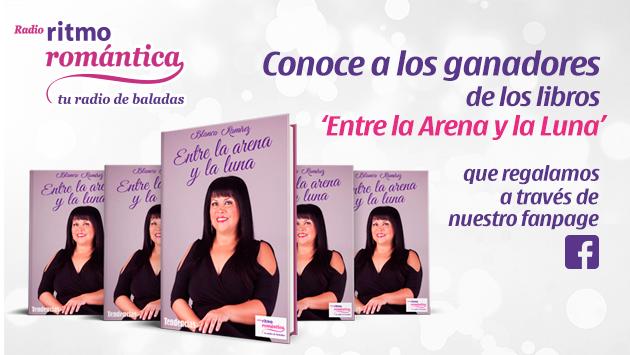 Ellos son los ganadores de 1 de los 5 libros 'Entre la Arena y la Luna' de Blanca Ramirez