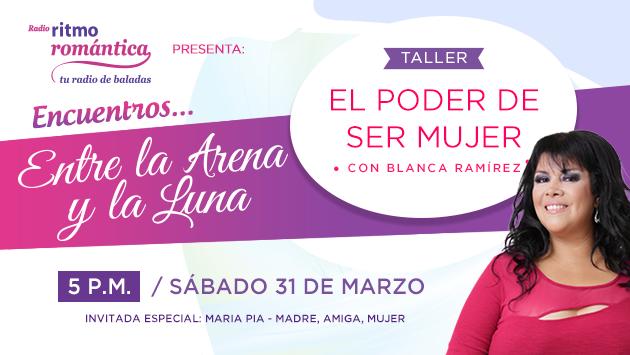 Blanca Ramírez presenta el taller 'El poder de ser mujer'