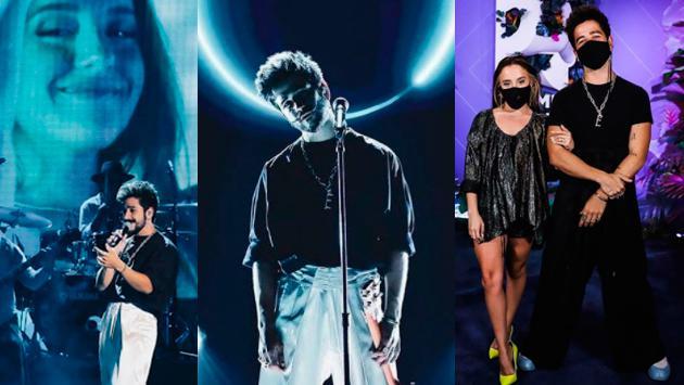 Camila y Evaluna derrocharon amor en los Premios Juventud 2020