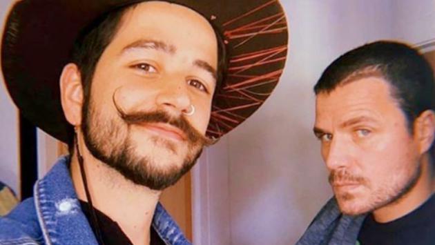 Camilo y Dani Martín estrenaron 'Avioncito de papel'