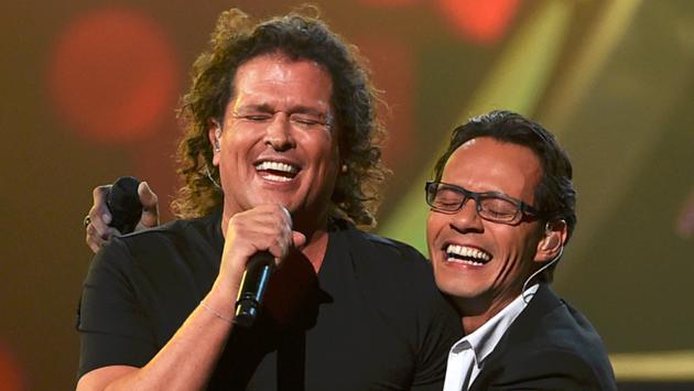 ¡Carlos Vives y la ex de Marc Anthony, juntos cantando para Instagram! [VIDEO]