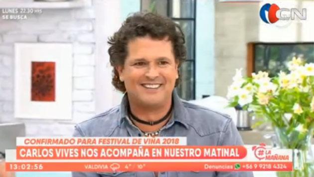 Carlos Vives y Miguel Bosé, confirmados para Viña del Mar 2018 [VIDEO]