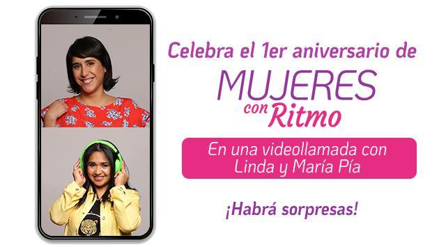Celebra el primer aniversario de Mujeres con Ritmo con nosotras