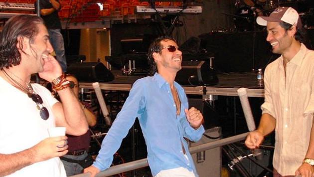 Chayanne, Alejandro Fernández y Marc Anthony sorprenden con foto juntos
