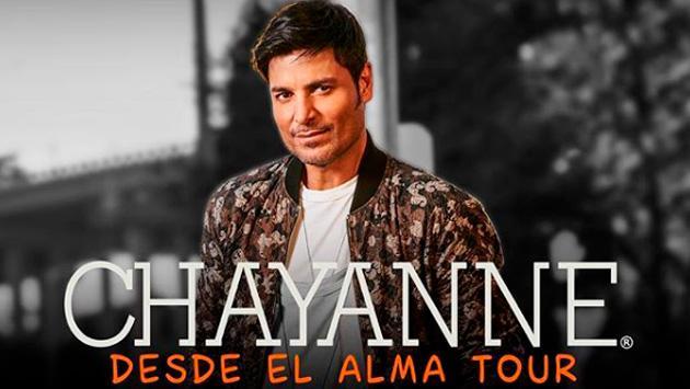 Chayanne anuncia nuevas fechas de su 'Desde El Alma Tour 2018'