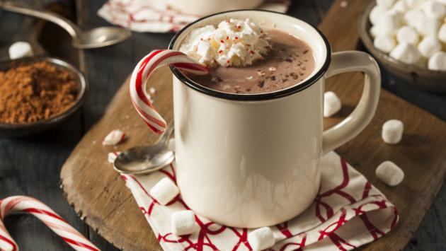 Chocolate caliente navideño