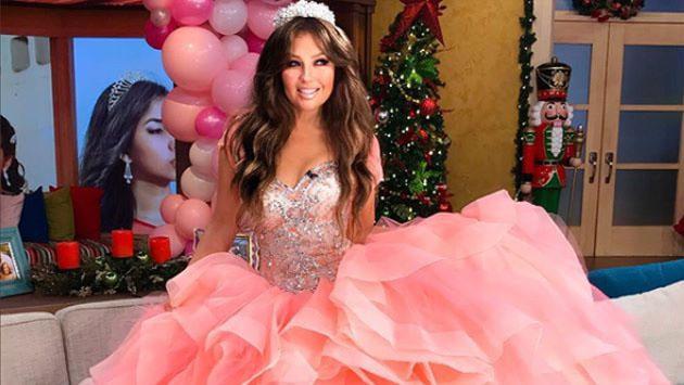 ¿Cómo quiere celebrar sus 15 años la hija de Thalía?